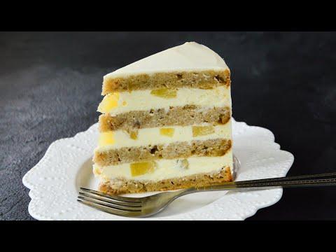 Торт КОЛИБРИ ☆ Банановый БИСКВИТ