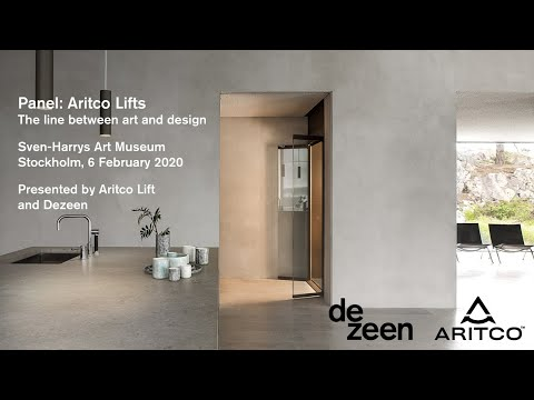 Panel discussion - the line between art and design with Aritco | Design | Dezeen