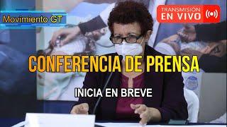 ???? EN VIVO  | Conferencia de prensa autoridades del Ministerio de Salud Pública y Asistencia Social