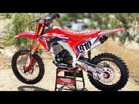 Custom built Honda CRF150F by BBR Motorsports - Motocross Action Magazine