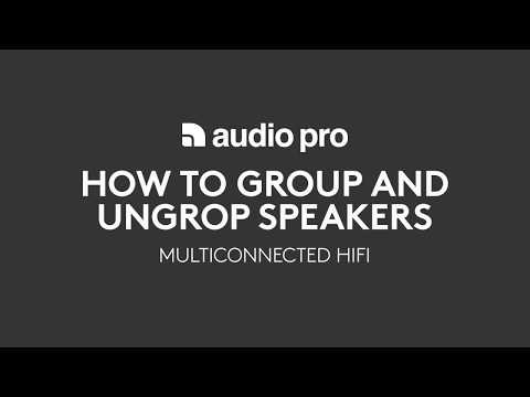 AudioPro Multiroom Grouping Speakers