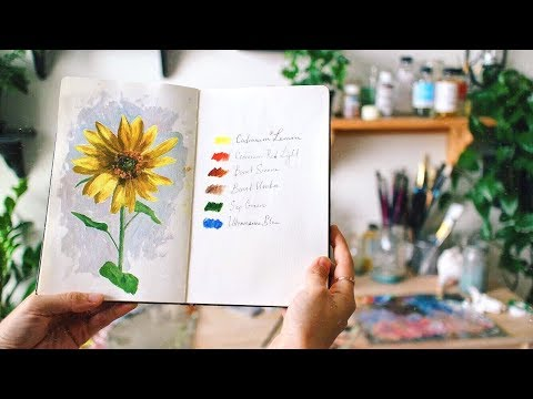 The simple things inspiring me | Sketchbook Sunday #42
