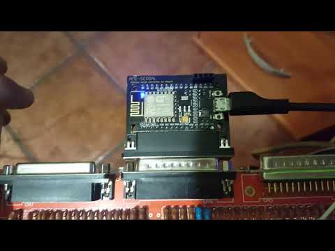 Ami-serial - wireless serial connection for amiga