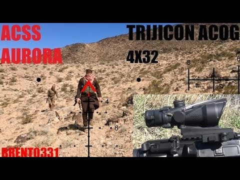 Trijicon ACOG with AURORA ACSS review by Brent0331