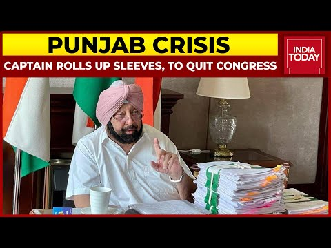 Amarinder Singh All Set To Give Gandhis The Boot; Congress In Disarray In Punjab   5ive LIVE