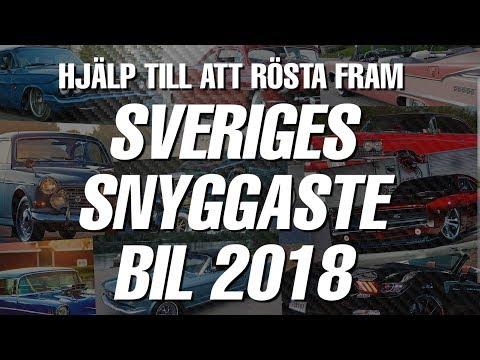 Sveriges Snyggaste Bil 2018 - här är de 10 kandidaterna!