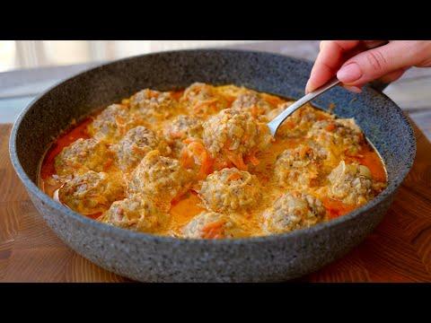 Очень Вкусные и Нежные ТЕФТЕЛИ в сливочном соусе.