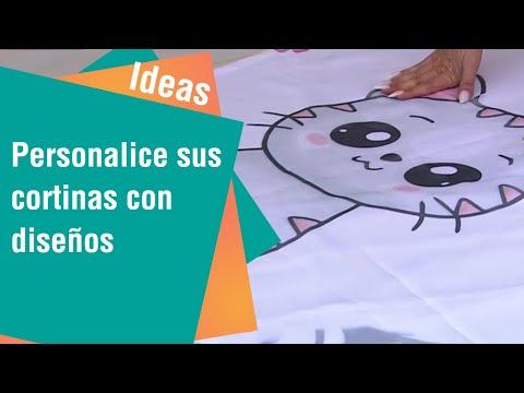 Personalice sus cortinas con diferentes diseños   Ideas