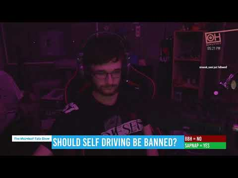 """Should self driving be banned?"" - Episode 36 - BadBoyHalo & Sapnap"