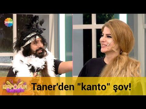 """Taner'den """"kanto"""" şov!"""