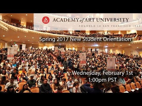 Spring 2017 New Student Orientation