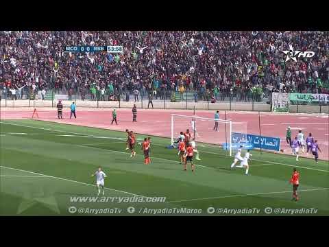 مولودية وجدة 1-0 نهضة بركان هدف عبد الله خفيفي