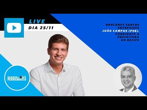 Rhaldney Santos entrevista João Campos (PSB), candidato à Prefeitura do Recife