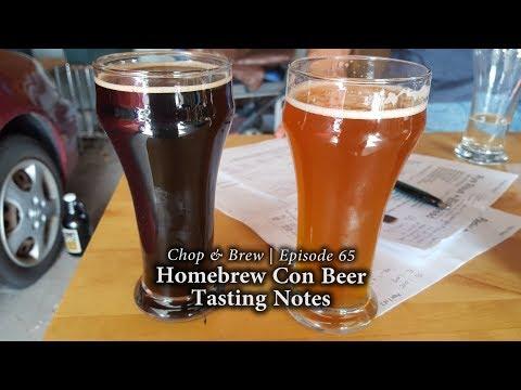 Chop & Brew | Homebrew Con Beer Tasting Notes
