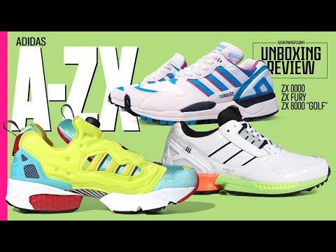 Golfe, parceria com Reebok E Um ZX Antes Dos ZX | UNBOXING+REVIEW - adidas A-ZX - Parte 8