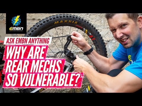 Why Do I Keep Destroying Derailleurs On My E-MTB? | Ask EMBN Anything About E-Bikes