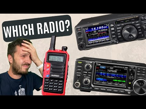 What Should be your FIRST Ham Radio? | Getting Started in Amateur Radio