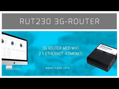 Teltonika RUT230 -kompakt 3G router