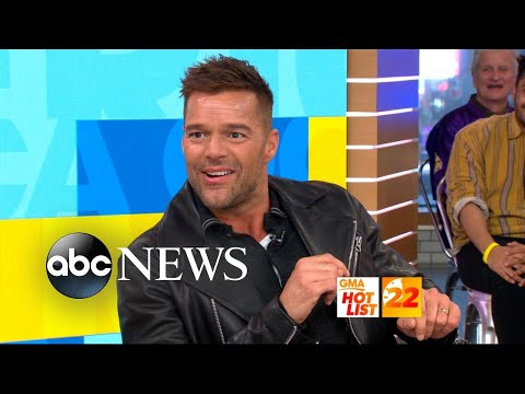 'GMA' Hot List: Ricky Martin says his twin boys are his 'biggest critics'