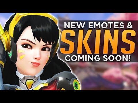 Overwatch: NEW Skins & BlizzardWorld Release Date! - BUFFED Movement