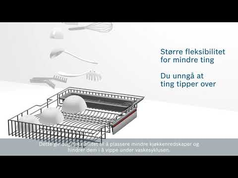 Extra space basket – Bosch PerfectDry oppvaskmaskiner
