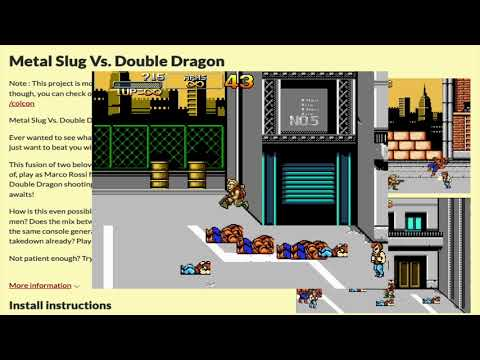 Metal Slug Vs. Double Dragon -Abandoned Project-