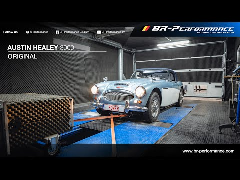 Austin Healey 3000 / Dynorun By BR-Performance