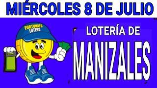 Resultados lotería de Manizales 8 de Julio de 2020