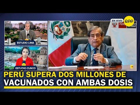 """Ugarte sobre quedarse en el ministerio de Salud: """"podría suceder y se analizará en su momento"""""""