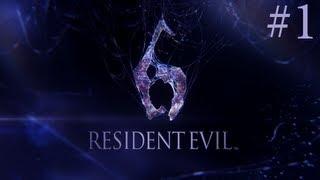 прохождение Resident Evil 6-часть 1