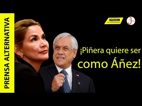 Mandatario chileno quiere postergar elecciones igual que ex dictadora boliviana!