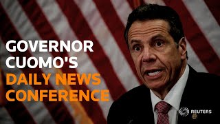LIVE: New York Governor Cuomo speaks on protests, COVID-19