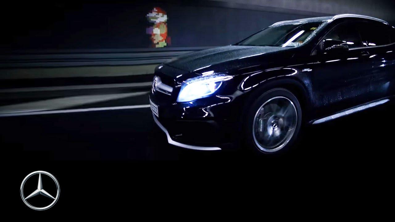 Mercedes-Benz TV: The GLA meets Super Mario.