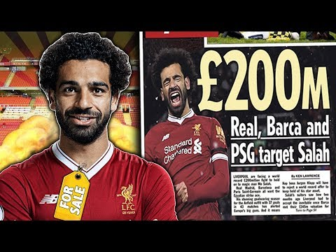Real Madrid, Barcelona And PSG To BATTLE Over £200M Mohamed Salah?! | Transfer Talk