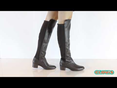 bfa52ea570 Compre este produto pelo link  http   www.clovis.com.br bota-feminina-cano- alto-over-knee-preta-bottero---249801 p Todos os nossos preços estão  sujeitos a .