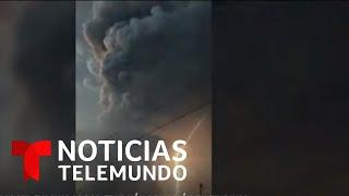 Volcán Taal comienza a expulsar lava y deja más de 200,000 evacuados en Filipinas   Telemundo