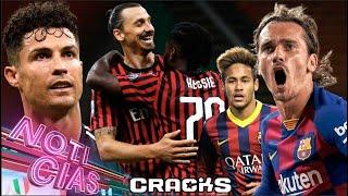 ¡MlLAN REMONTA! lBRA y CRlSTlANO anotan | ¿Neymar o Griezmann | Vence cláusula de LAUTARO