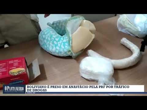 Boliviano é preso em Anastácio pela PRF por tráfico de drogas