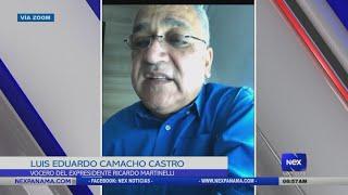 Entrevista a Luis Eduardo Camacho, sobre el estado de salud del expresidente Ricardo Martinelli