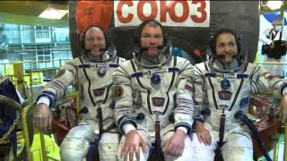 Next Space Station Crew Prepares for Launch