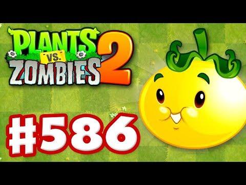 connectYoutube - Plants vs. Zombies 2 - Gameplay Walkthrough Part 586 - Solar Tomato Premium Seeds Epic Quest!