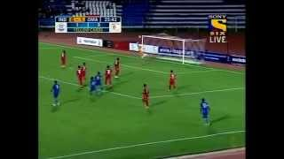 Sunil Chhetri Scores an absolute Scorcher of a goal against Oman