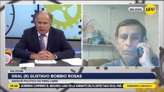 "Gustavo Bobbio sobre Pedro Castillo: ""No veo que este fingiendo"""