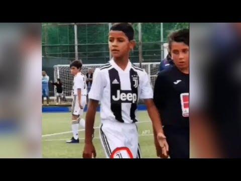 فيديو.. اول هدف لرونالدو جونيور مع صغار جوفنتوس