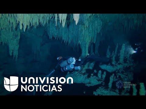 connectYoutube - Descubren la cueva submarina más grande del mundo en México, una puerta al inframundo maya