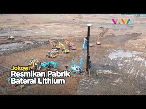 Jokowi Sahkan Pembangunan Pabrik Baterai Pertama di Asia Tenggara!