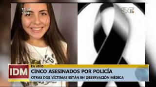 Capiatá: Policía asesinó a su familia y luego se quitó la vida