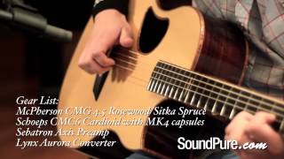 McPherson CMG 4.5 Rosewood/Sitka Spruce Demo