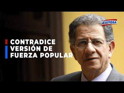 Óscar Urviola contradice versión de Fuerza Popular y asegura que él no ha invocado a fraude