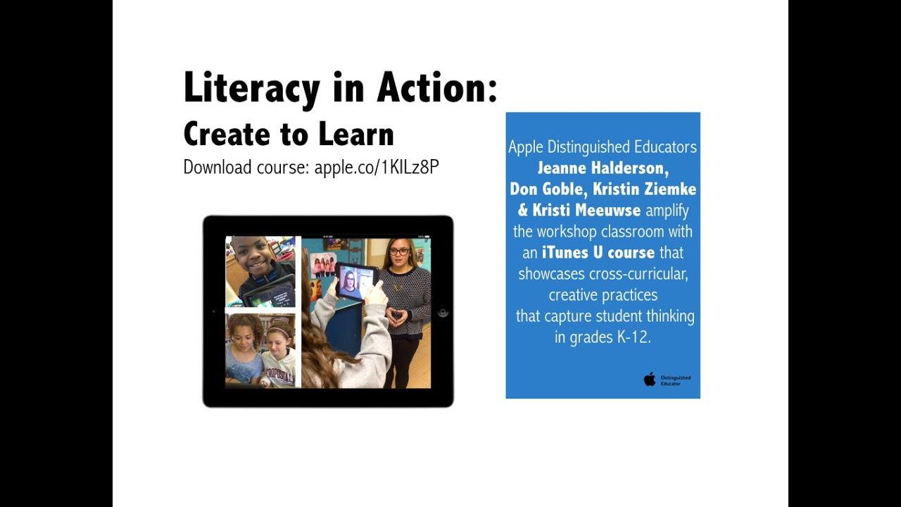 Literacy in Action Webinar